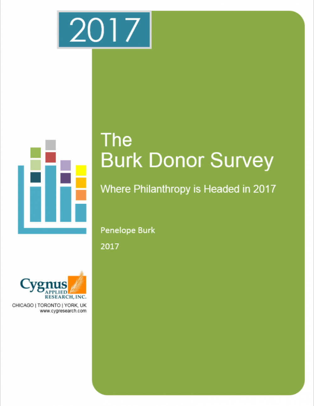 2017 The Burk Donor Survey