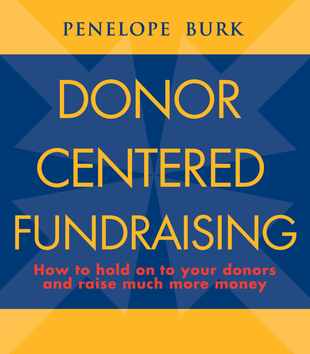 Donor Centered Fundraising Front Cover