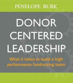 Donor Centered Leadership Front Cover